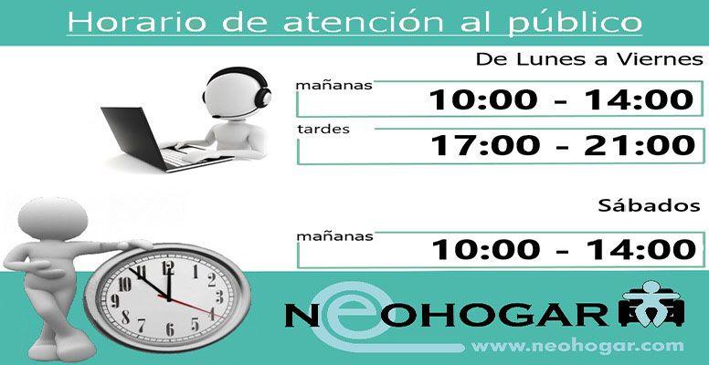 Horario tienda de colchones en Madrid